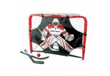 Kit mini cage de hockey Deluxe Bauer