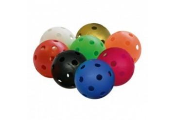 Balles de floorball  Reste que en Blanc