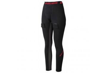 Pantalon Bauer ESSENTIAL Compression avec coquille et jartelle S19